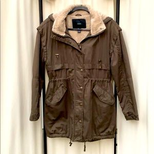 FOREVER 21- GREEN UTILITY STYLE JACKET SIZE SMALL